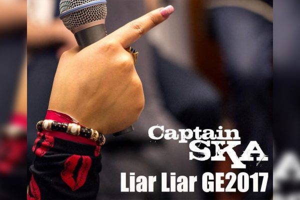 Captain Ska - Liar Liar GE2017