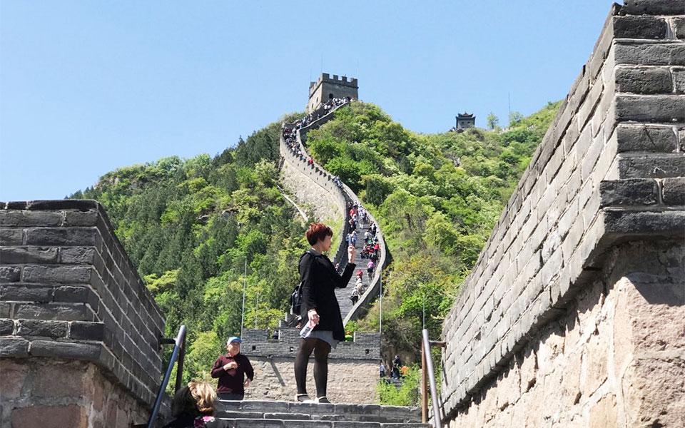 دیدار از دیوار چین