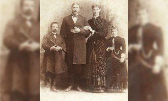 Anna Hannon Swann and Capt. Martin Van Buren Bates