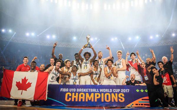 تیم بسکتبال زیر 19 سال کانادا جام طلای مسابقات بین المللی 2017 را از آن خود کرد. ایتالیا و آمریکا به ترتیب مدالهای نقره و برنز را کسب کردند.