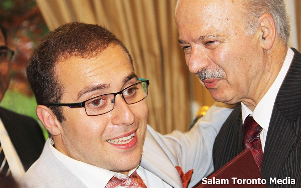 خوشحالی وزیر از موفقیت های جوان نمونه ایرانی ـ کانادایی شایان زهرایی شایان زهرایی: من سوار سرنوشت خودم هستم.
