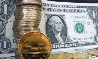 بالا رفتن ارزش دلار کانادا نشانه رونق اقتصاد است