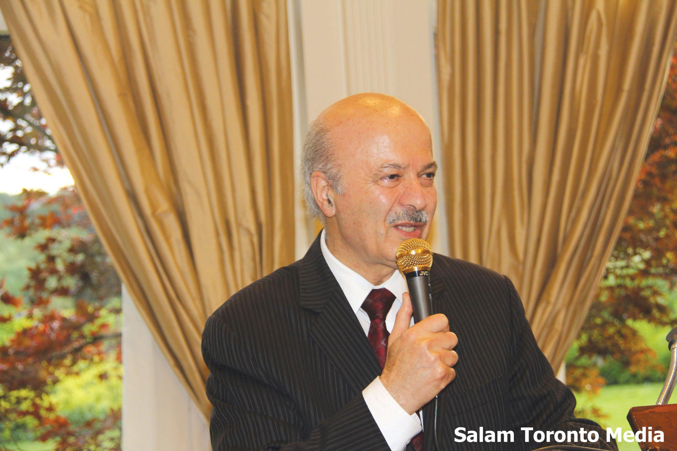این جشن به دعوت دکتر رضا مریدی نماینده ریچموندهیل در پارلمان انتاریو  برگزار می شود. عکس از سلام تورنتو
