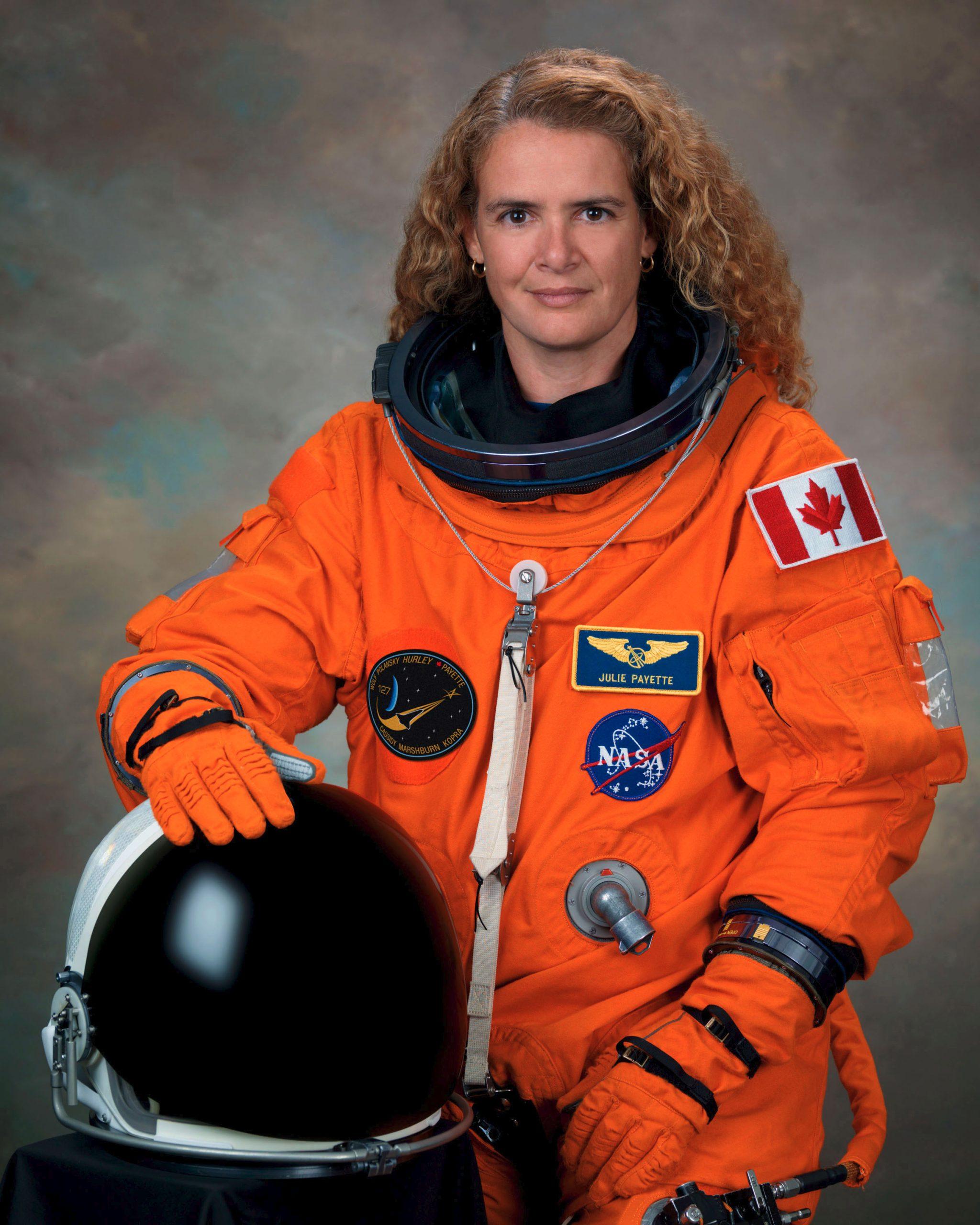 جولی پی یت فضانورد سابق کانادا که از ماه اکتبر به سمت فرماندار کل جدید کانادا انتخاب می شود