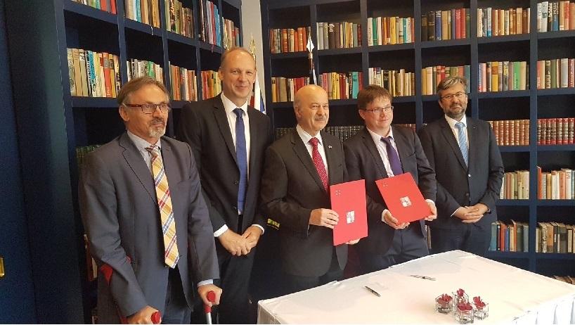 امضا تفاهمنامه (MOU) علمی و اقتصادی بین انتاریو و جمهوری چک.