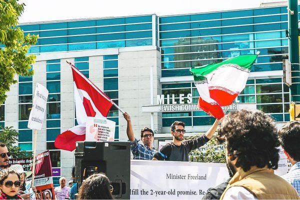 بسته شدن سفارت کانادا در ایران در پی علل متعددی از جمله بسته شدن سفارت انگلستان در ایران بوده است.