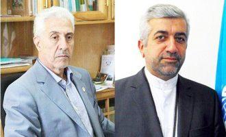 منصور غلامی(چپ) -رضا  اردکانیان