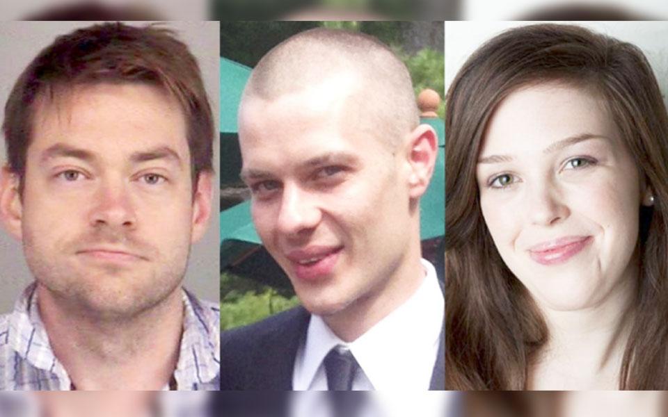 از راست: لورا بوبکاک، مارک اسمیش و دیلن میلارد