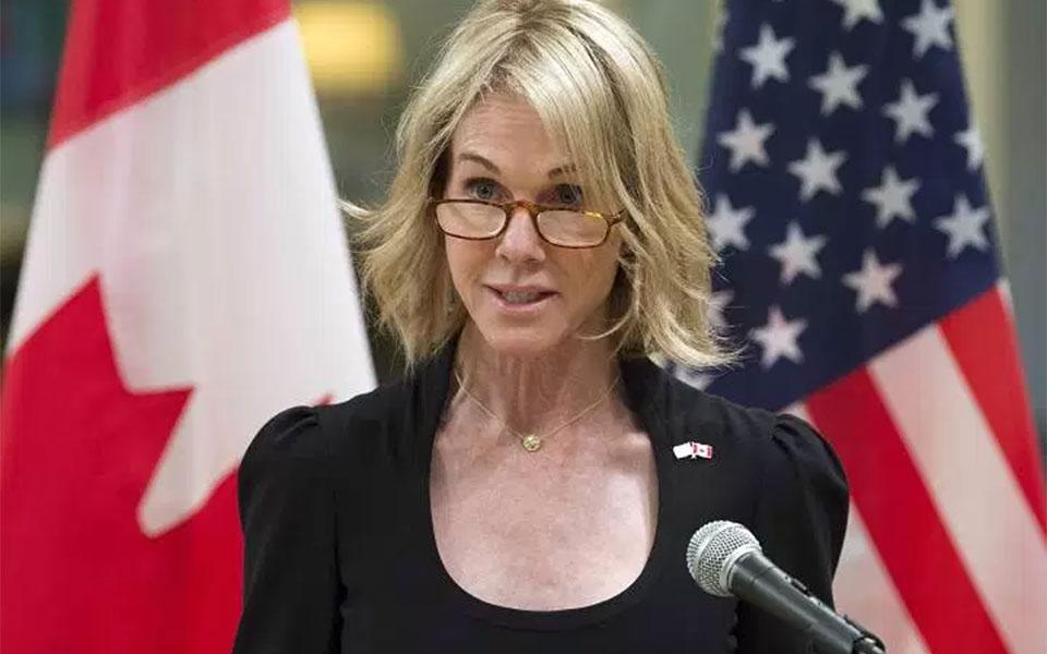 کلی کرفت سفیر جدید آمریکا