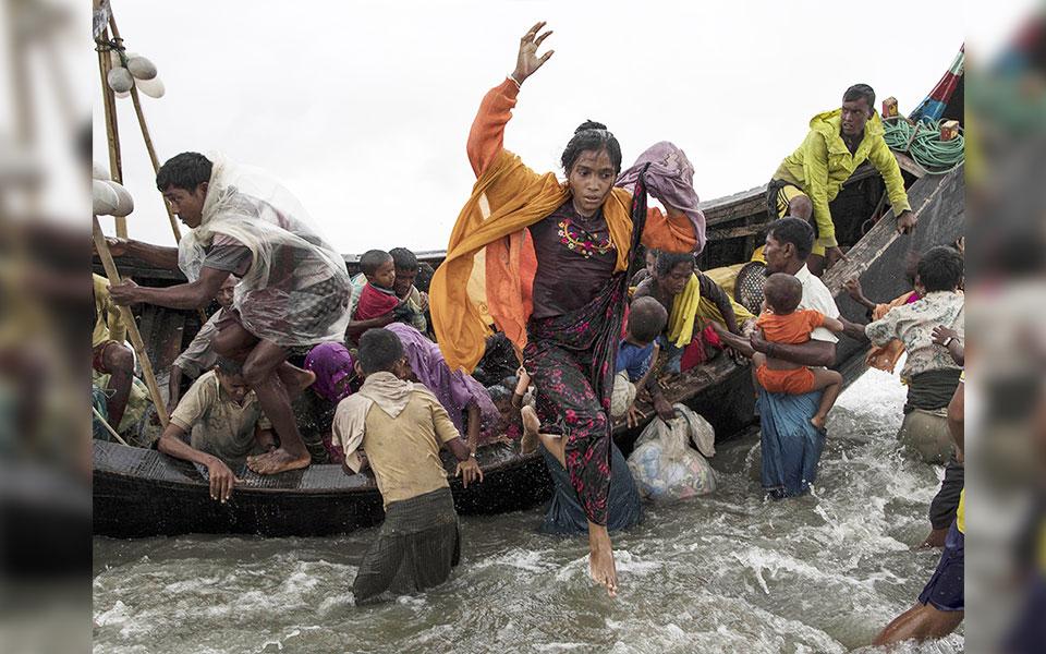 ادامه خشونت ها علیه مسلمانان میانمار باعث آوارگی 600 هزار تن ازآنها و پناه بردن به بنگلادش شده.