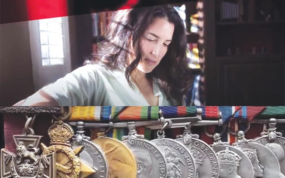 لزلی بارون فرزند نوه دختری کالین بارون در تلاش برای بازگرداندن نشان افتخاری نظامی امپراتوری بریتانیا