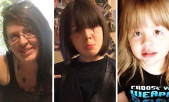 Lindsey Bonchek و فرزندانش در آتش سوزی آشاوا جان باختند