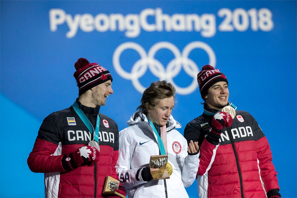 Mark McMorris (right) is Canada's first male snowboarder to win 2 Olympic medals