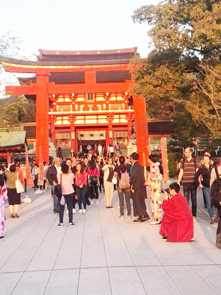 دیدار از معبد بزرگ Fushimi-Inari Shrine در کیوتو