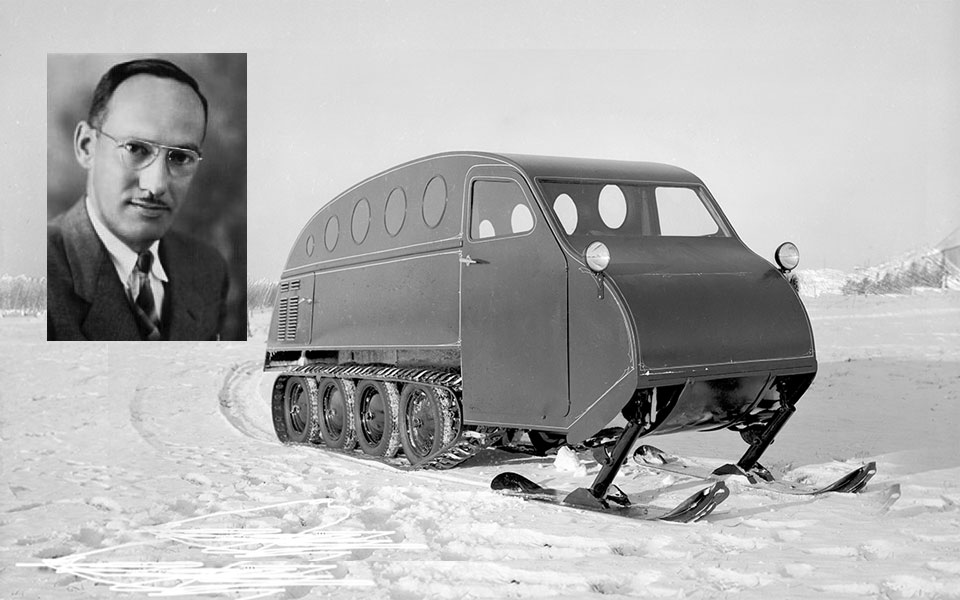 Autoneige-B12-Snowmobile