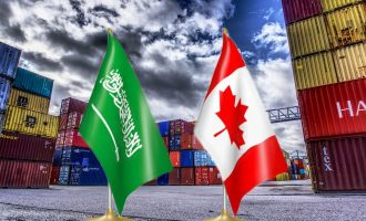 جمع واردات کانادا از عربستان در سال 2017 نیز 2.6 میلیارد دلار بوده