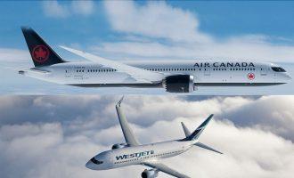 میزان سفرهای هوایی در کانادا افزایش داشته