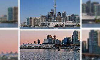 حدود یک سوم از کل معاملات املاک تجاری در کانادا به تورنتو تعلق داشته.