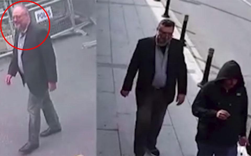 چپ: خاشوجی واقعی، راست: مردی که گفته شده با لباسهای خاشوجی محل را ترک کرده