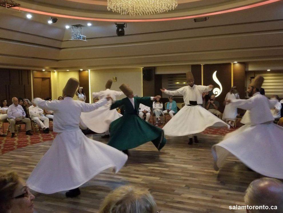تور 12 روزه ترکیه با همکاری کانون بانوان تورنتو به مدیریت خانم آذر برگزار شد. این تور همراه بود با سفر به قونیه و شرکت در مراسم رقص سماع