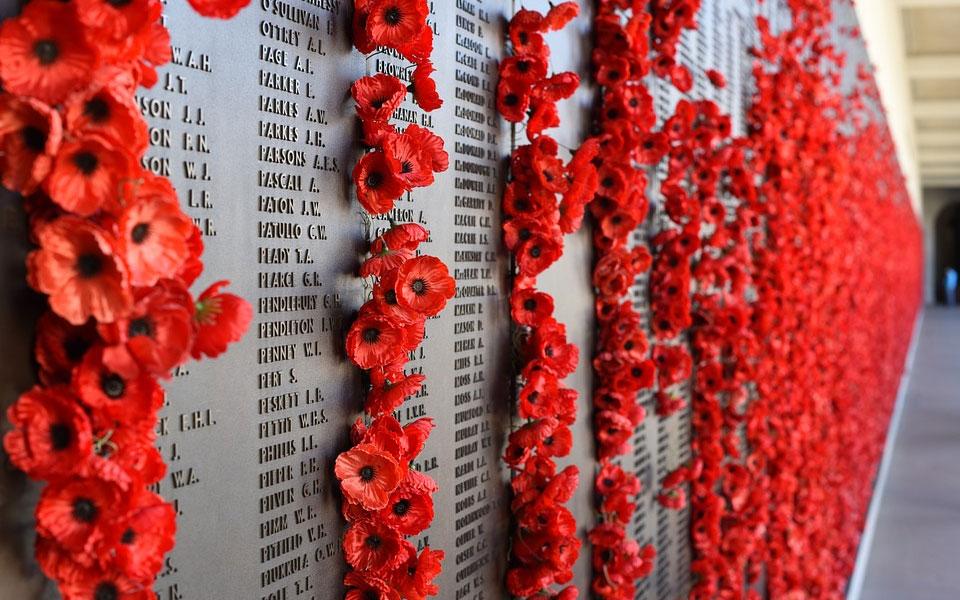 روز سربازان و بازماندگان نظامی امسال با یکصدمین سال پایان جنگ جهانی اول مصادف بود.