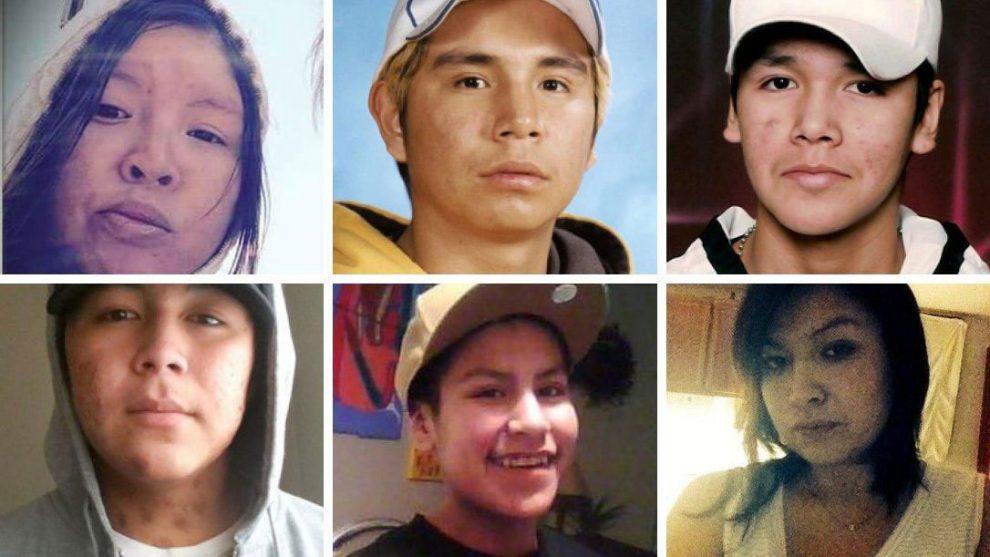 اینها همگی در تندر بی مرده پیدا شده اند، و جزو کسانی هستند که سرپرست بازرسی مستقل پلیس توصیه کرده پرونده شان دوباره باز شود