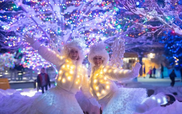 New Years celebrations in Whistler Village