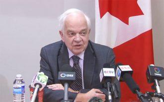جان مک کالوم سفیر کانادا
