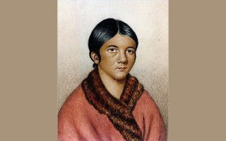 A female Red Indian of Newfoundland