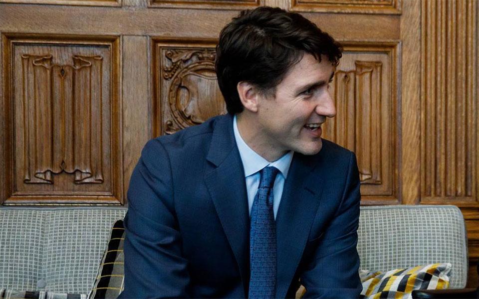 جاستین ترودو نخست وزیر و رهبر لیبرالها از هم اکنون مشخص کرده که می خواهد با شعارهای مثبت پیش برود.