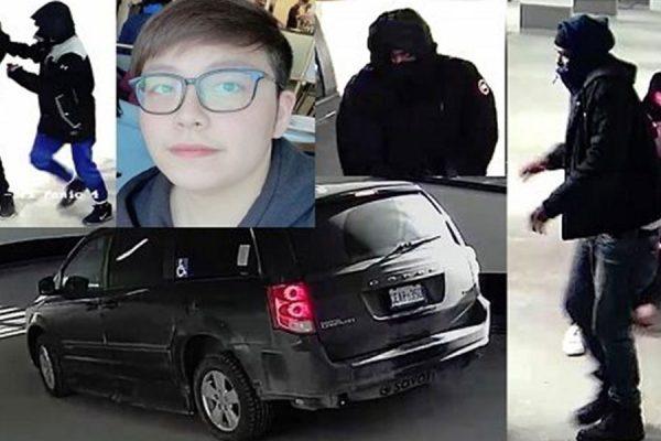 تصاویر ثبت شده توسط دوربین مدار بسته در پارکینگ