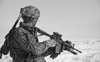 احتمال خودکشی در میان سربازان مرد در نیروهای زمینی ارتش army ، بیشتر از نیروهای دریایی، هوایی و نیز کانادایی ها در کل می باشد.