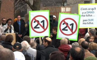 دیوید بیربنام نماینده مجلس کبک نیز گفت لایحه پیشنهادی دولت کبک مخالف برابری حقیقی است زیرا شهروندان را نابرابر می کند.