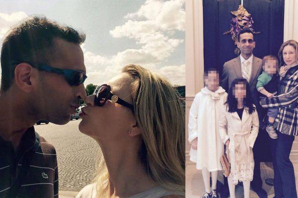 عکسهایی ازاین زوج که در سوشیال مدیا به اشتراک گذاشته بودند