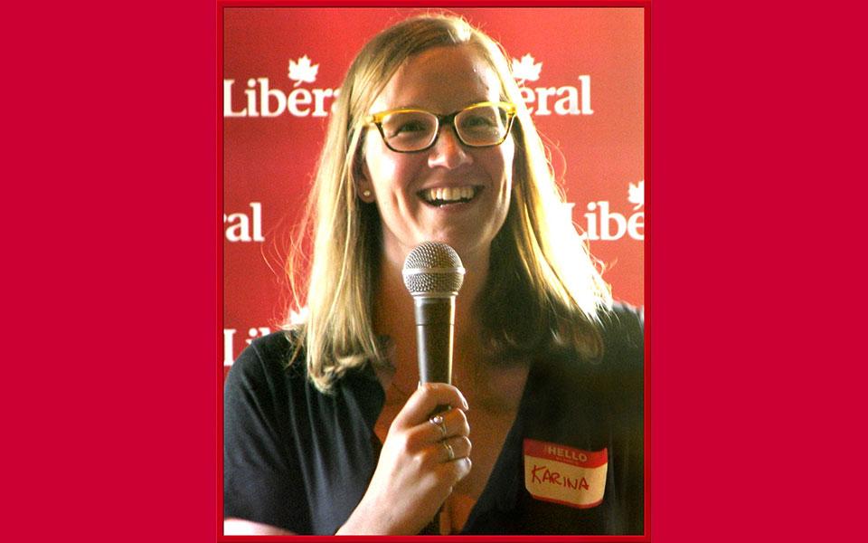 کارینا گولد  وزیر نهادهای دمکراتیک کانادا